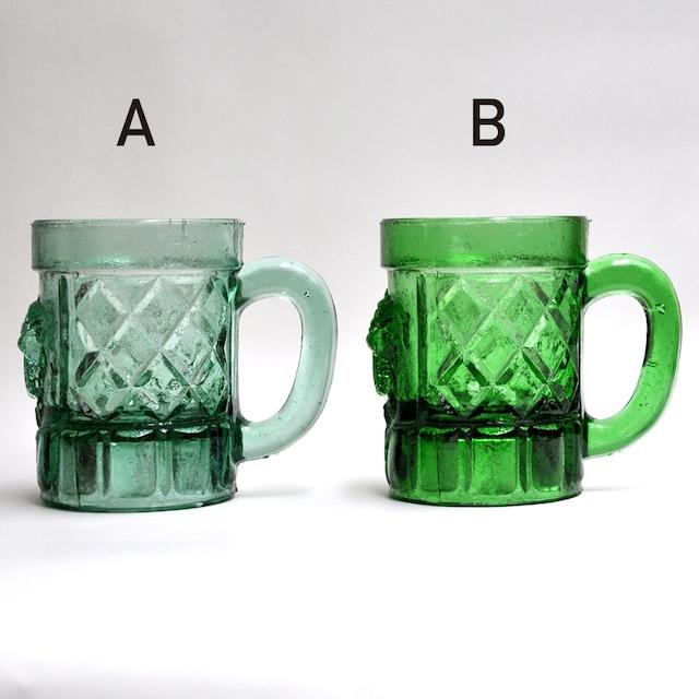 EREACHE PUEBLA GLASS エレアチェ ビアグラス A メキシコ プエブラ