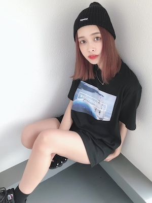 海の教会Tシャツ(黒)