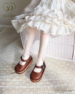 ストラップシューズ ブラウン [ブライス] ドール 靴 本革 D2005-BRW-30