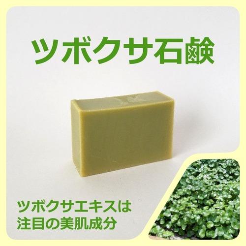 ツボクサ石鹸 当店自慢の植物エキス配合の石けん 注目の美肌成分ツボクサ 多数のリピーター様愛用