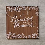 Tree's Board(Brown)-FAMILY_250SQ_20ページ/30カット_スリムフラット
