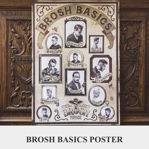 BROSH ブロッシュ ベーシックポスター(ポスターフレームなし)