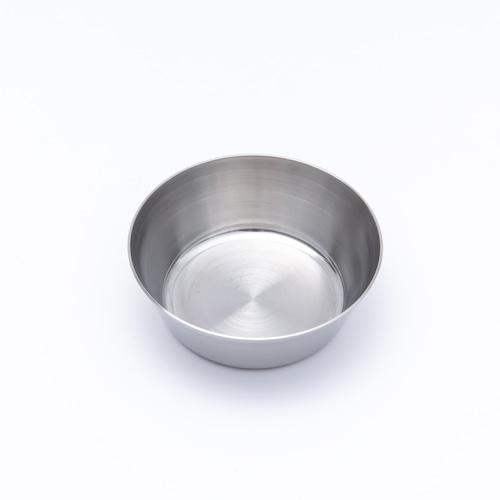韓国ステンレス食器/カップ/浅型(2号)【直径8.5㎝/高さ3㎝】