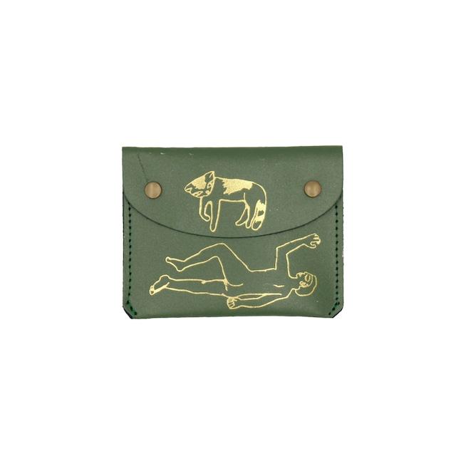 Ark Colour Design_Who Do You Sleep With Purses:Green