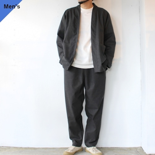 weac. HATENA SHIRTS / RELAX PANTS イージーセットアップ Charcoal