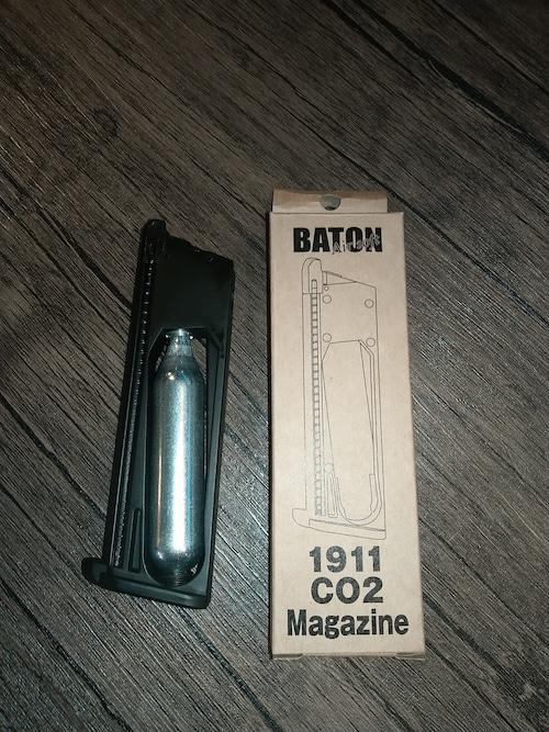 CO2用マガジン ガバメント、M45