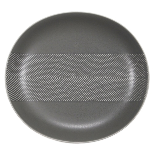 BIRDS' WORDS(バーズワーズ) Tabletop Plate 24.5cm ash gray
