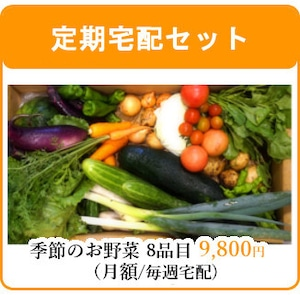 毎週 定期宅配!農家直送の有機野菜セット♪