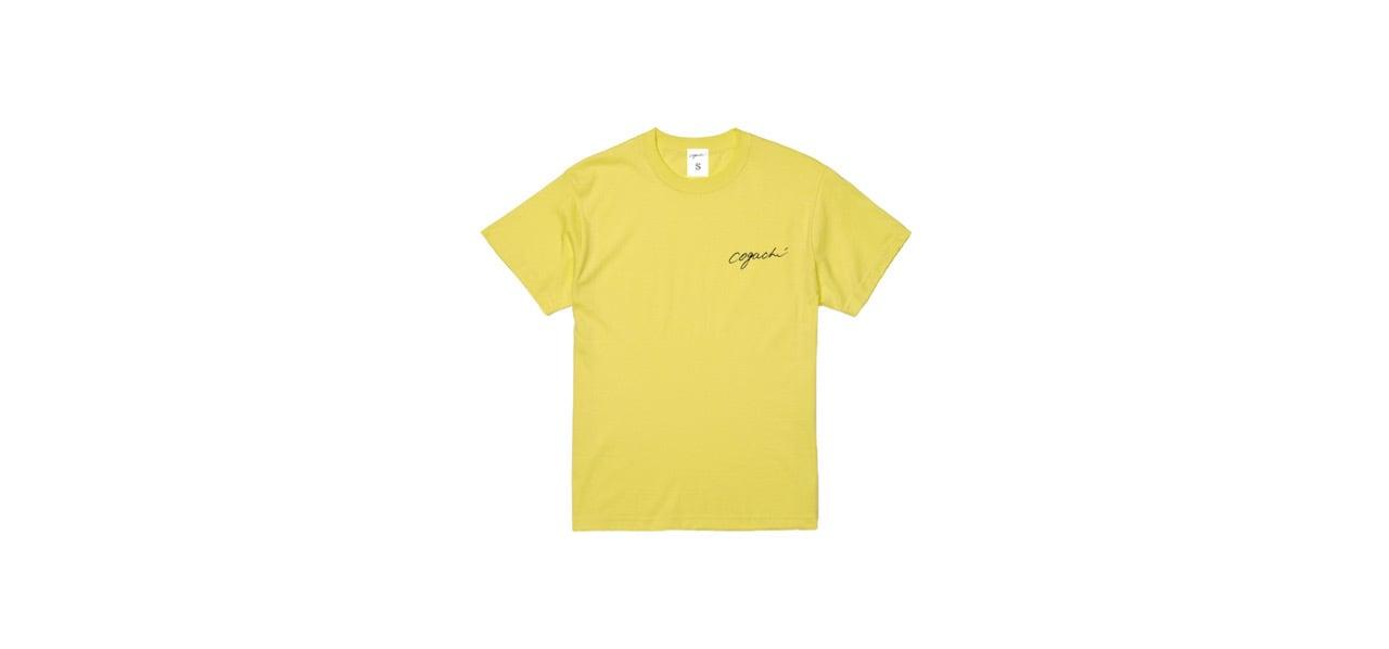 coguchi 1991 back logo T-shirts (YEL)