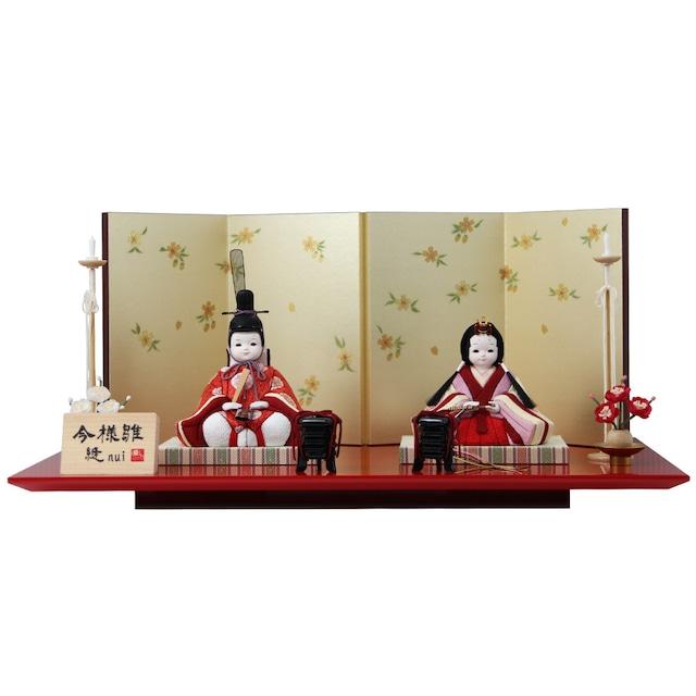 縫シリーズ 木目込 雛人形「雅」 (クーポンをご利用ください。)