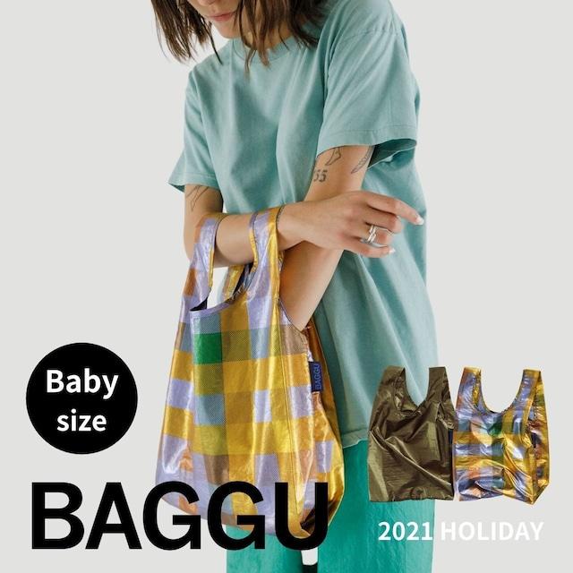 【送料無料】BABY BAGGU <metallic> 2021 HOLIDAY 全2色