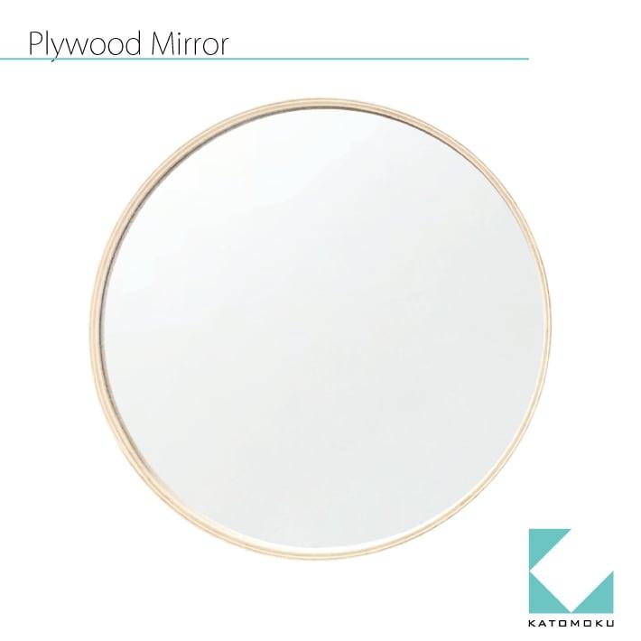 KATOMOKU plywood mirror km-91N ナチュラル 362mm