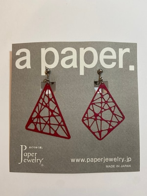 【Paper Jewely】アヤトリ/イヤリング