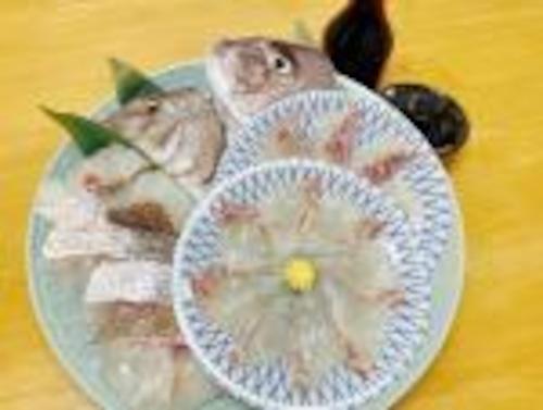 【ギフト】めで鯛お頭付き!鮮度抜群真鯛&もらって嬉しい九州の専用調味料セット《firesh™》