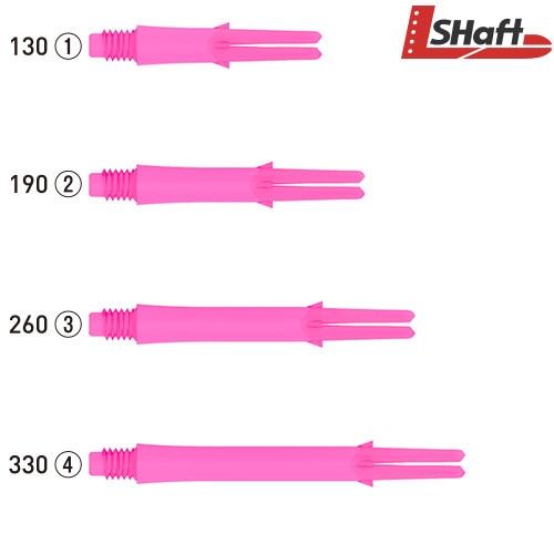 L-SHaft Lock Straight [Shocking Pink]