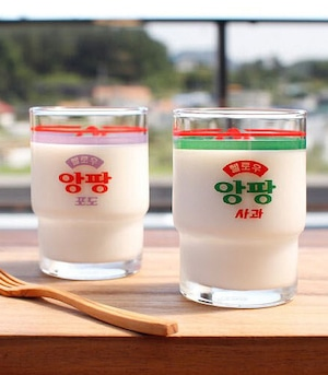 [서울우유] ソウル牛乳社 グラス
