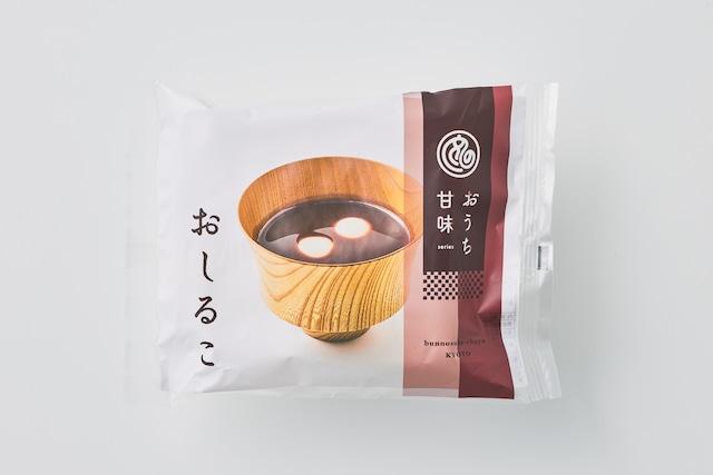 おうち甘味 おしるこ(餅付き)