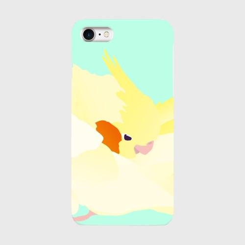 iPhoneケース もふもふオカメインコ【各機種対応】