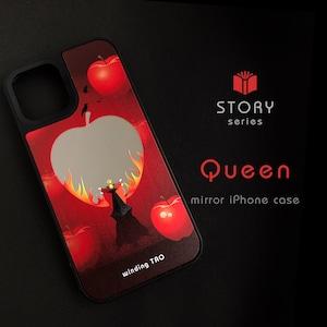 女王と毒リンゴの鏡 ミラーケース[iPhone12対応]〈物語シリーズ〉