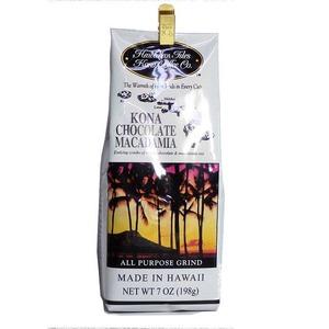 チョコレートマカダミア(挽き済みの粉) ハワイアンアイルズ(7oz 198g) ハワイコナコーヒー フレーバーコーヒー