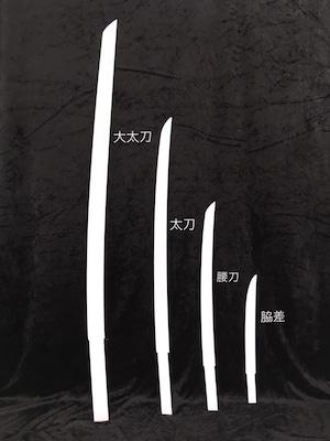 造形ベース(日本刀タイプ【大太刀】)