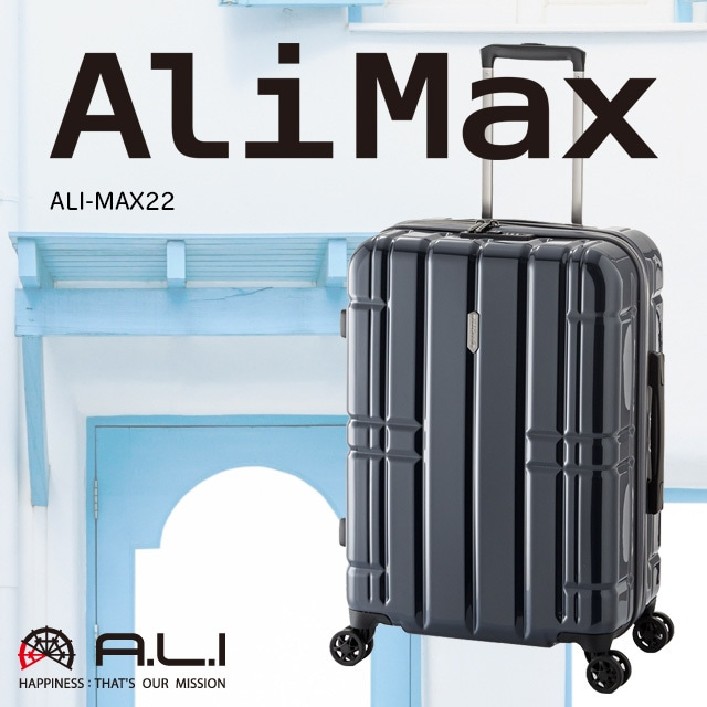 【3〜4泊用】ALiMax  ALI-MAX22 50+10L 【手荷物預け無料サイズ】