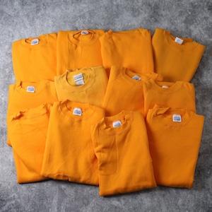 90年代 デッドストック USA製 DISCUS ディスカス スウェットシャツ S~XL オレンジ A533