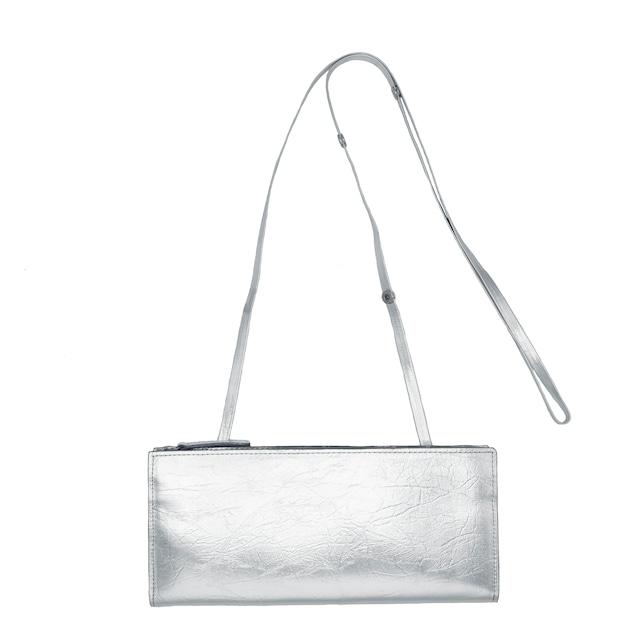 《財布ポーチM 》TIN BREATH Ready to go purse Silver