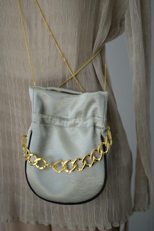 STAIR / PURSE BAG (green)