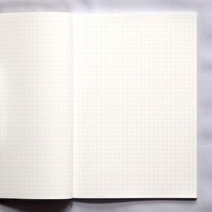 【石のノート】ハクアノート ブルー