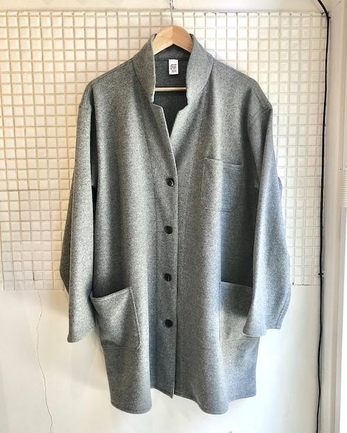 Atelier coat : heather gray