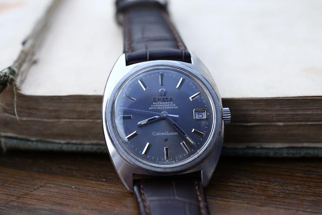 【OMEGA】 1960's コンステレーション Cライン フラットベゼル グレーダイヤル 前期型 自動巻き  / Vintagewatch / Constellation / Cal.564