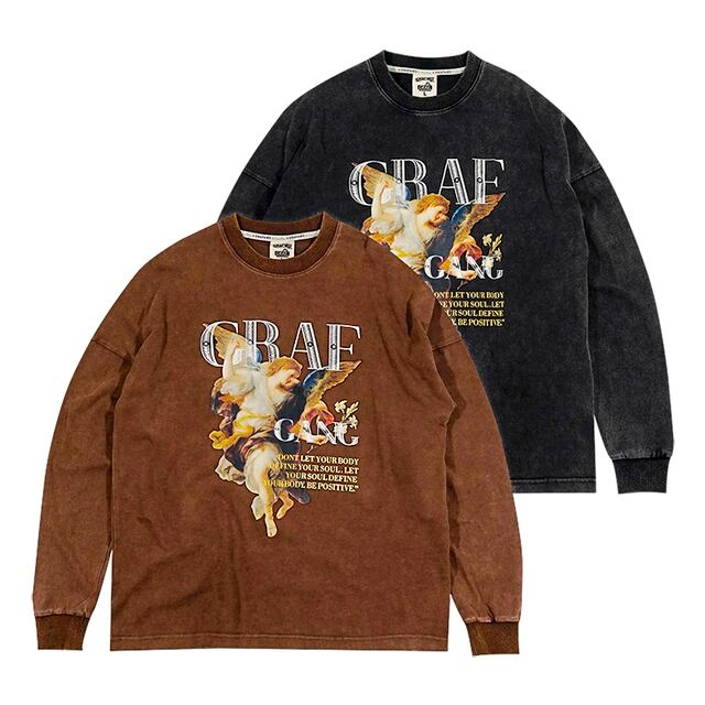 【GRAF】ロングスリーブTシャツBR