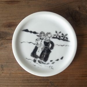 ARABIA / hand painted small plate