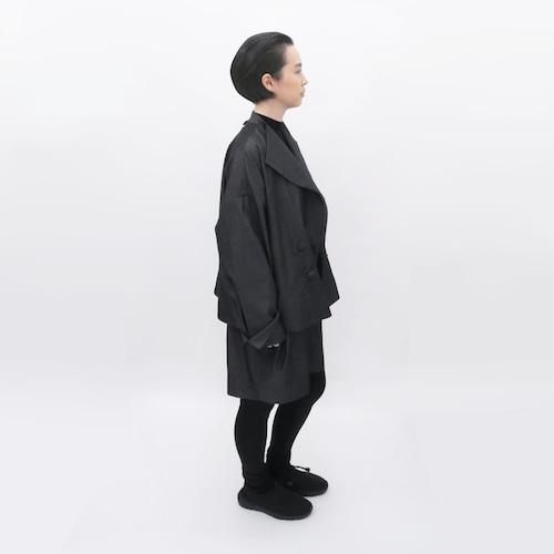 受注制/倉敷デニム/ピーコート/ワイドジャケット/JC-5