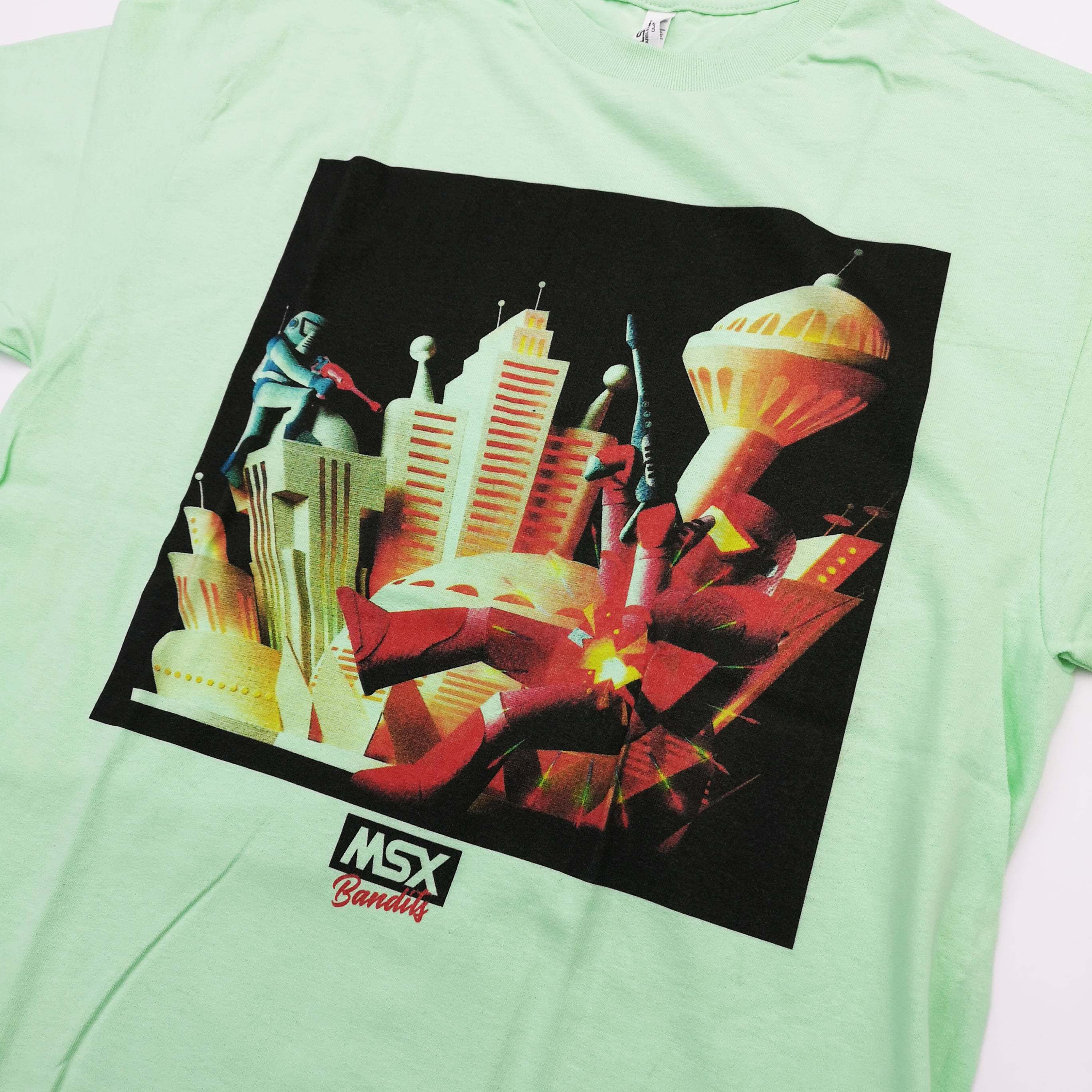 "MSX BANDITS The Art of Graphic ""WAR"" TEE"