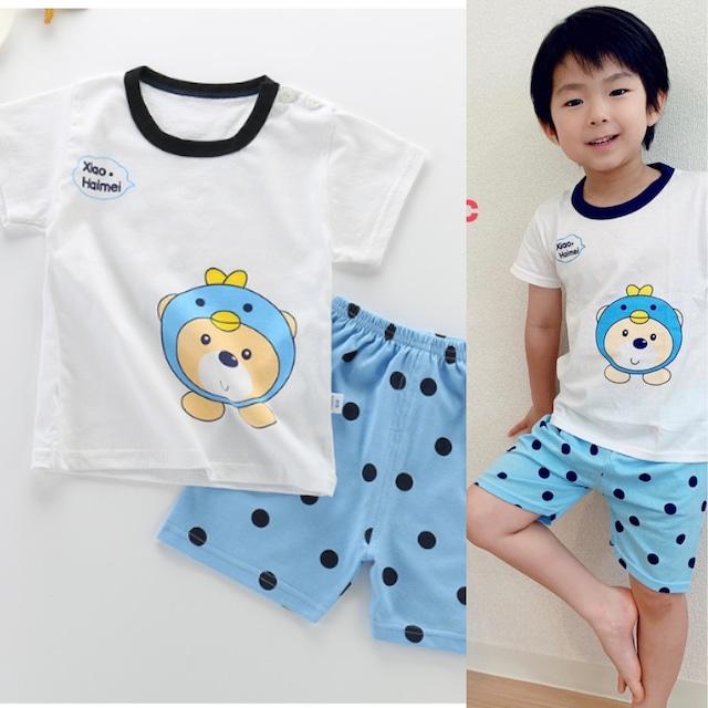 【子供服】 パジャマ 可愛い 家着 男の子 部屋着  安い くま