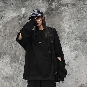 【トップス】ストリート系ファッション透かし彫りTシャツ42919267
