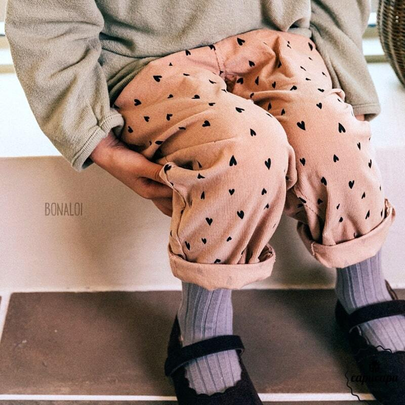 «sold out» heart corduroy pants 2colors ハートコーデュロイパンツ