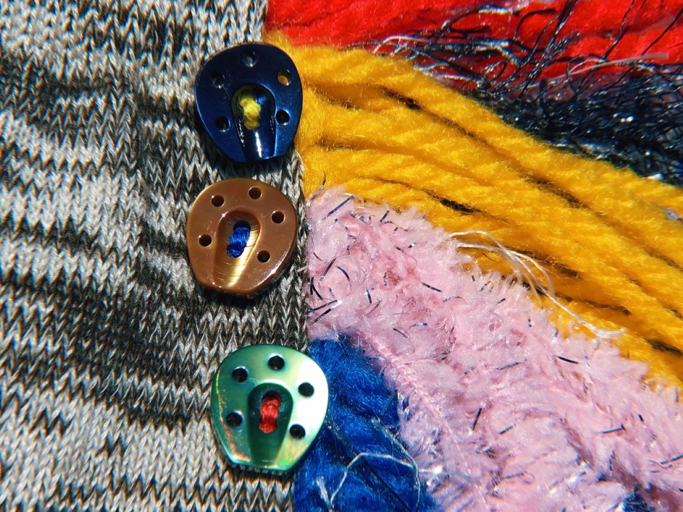 Tategami Fringe Socks with CO- Button