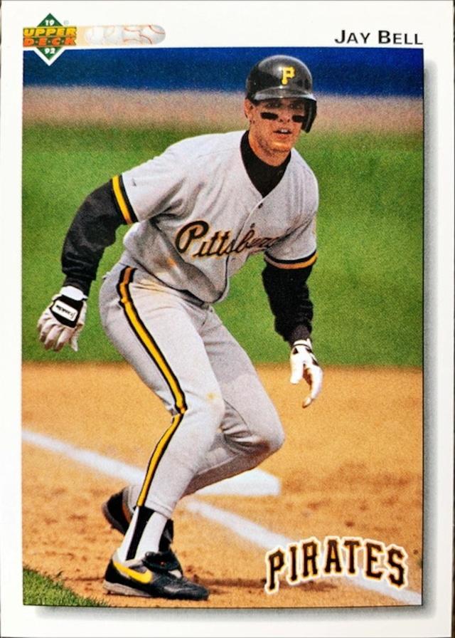 MLBカード 92UPPERDECK Jay Bell #115 PIRATES