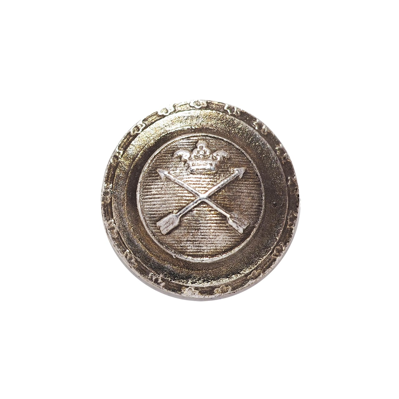 サークルクラウンアロー SS シルバー / コンチョボタン