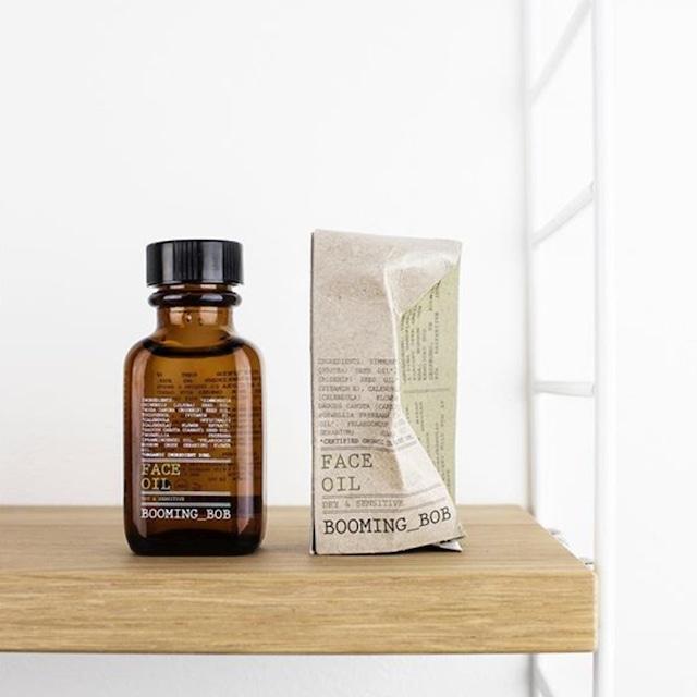 """ BOOMING_BOB organic Face oil / ブーミングボブ オーガニックフェイスオイル【コンビネーションスキン】30ml """