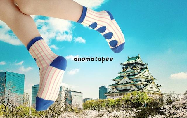 anomatopee socks 【MARUMARUサムライ】 アノマトペ ソックス 靴下 S〜L(13cm〜24cm)