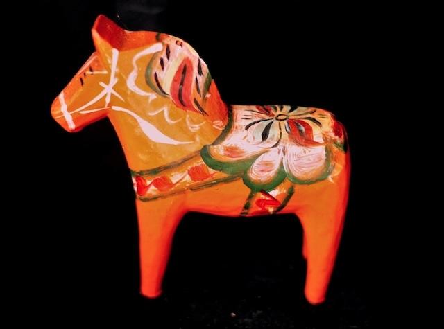 ダーラナホース 幸せを呼ぶ赤い馬 ダーラヘスト 10㎝