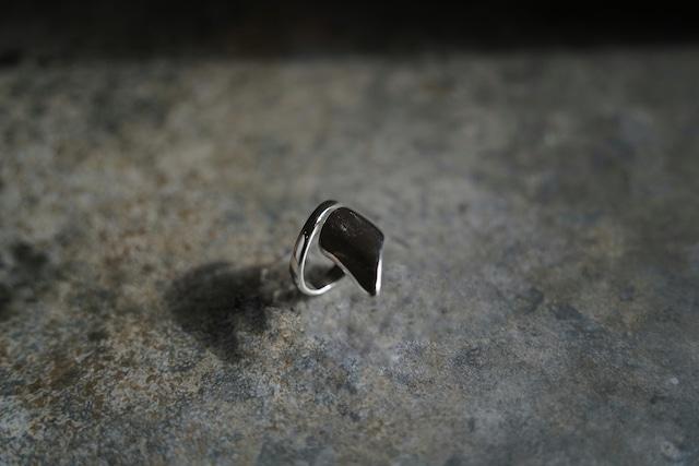 "Addiction silver 925 design ring ""edge"""