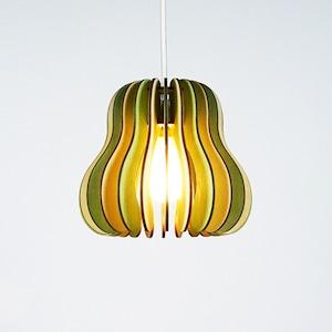 「洋梨」木製ペンダントライト