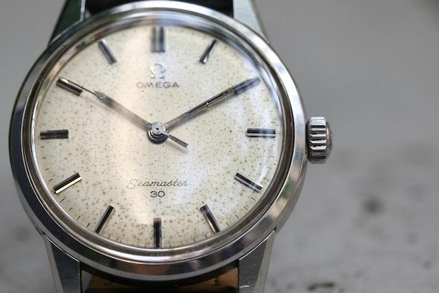 【OMEGA】 1960's オメガ シーマスター 30  エイジングダイヤル ノンデイト 手巻き / Vintagewatch / Seamaster / Cal.286