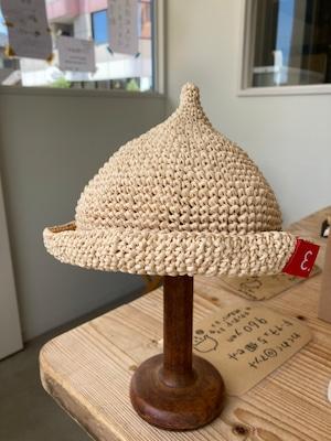グッチュ 麦わらどんぐり帽子 Sサイズ