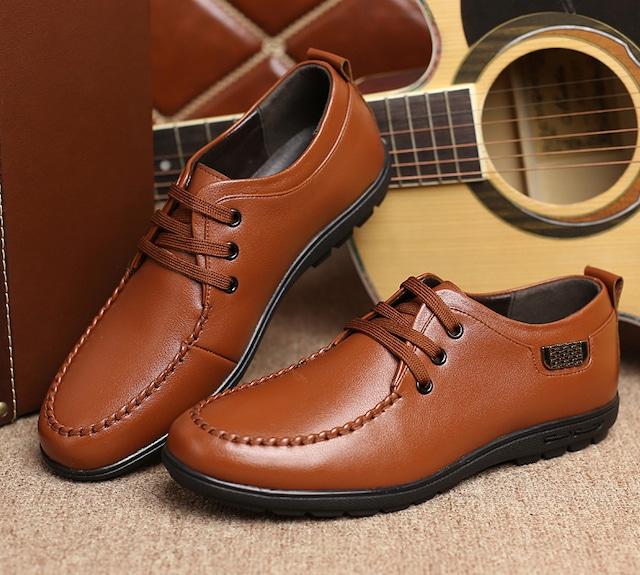 ローファー 本革 ビジネスシューズ メンズ レザー 革靴 スリッポン スリッパ ウォshs-75